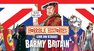 Image for HORRIBLE HISTORIES - BARMY BRITAIN