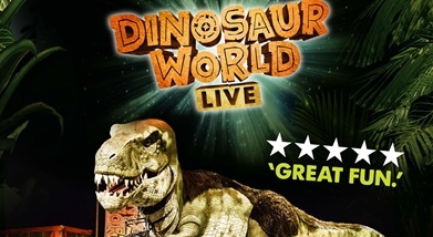 Image for DINOSAUR WORLD LIVE