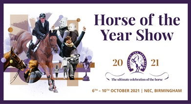 Image for HORSE OF THE YEAR SHOW 2021