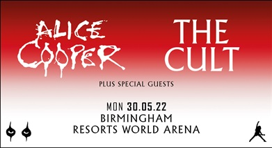 Image for ALICE COOPER + THE CULT